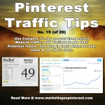 Pinterest Traffic Tip15 - Pinclout for spying
