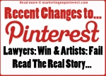 Pinterest changes, design failure