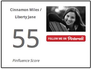 pinfluence score