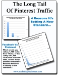long tail of Pinterest traffic graphic
