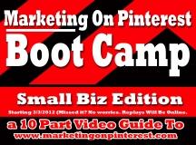 Marketing On Pinterest Boot Camp