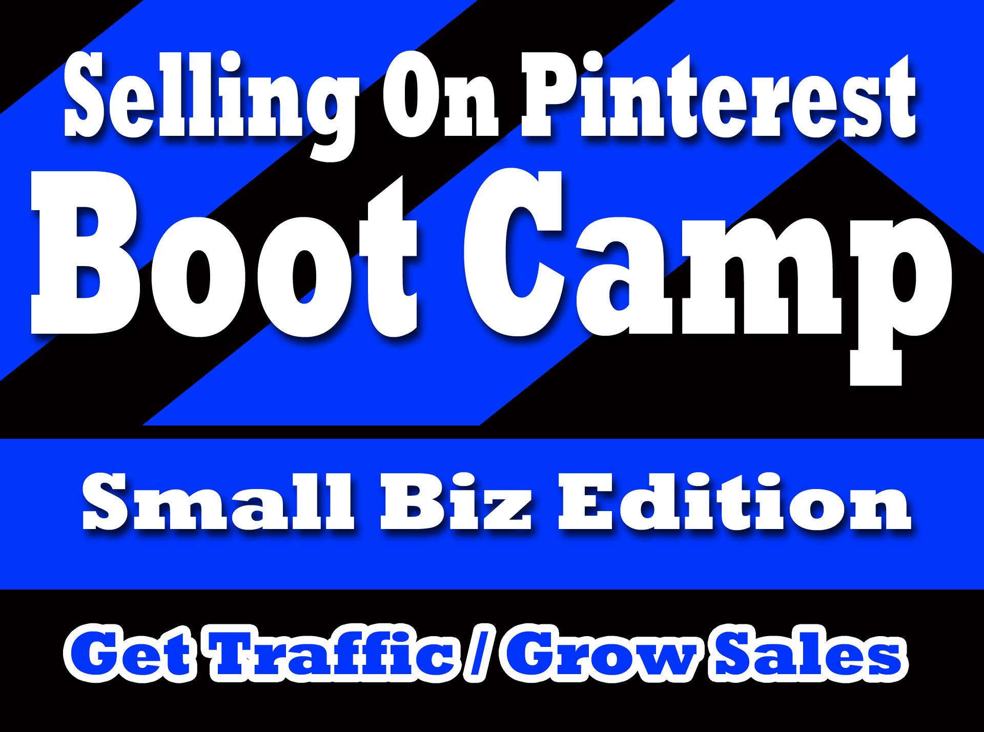 SELLING ON PINTEREST bootcamp