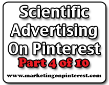Scientific Advertising On Pinterest