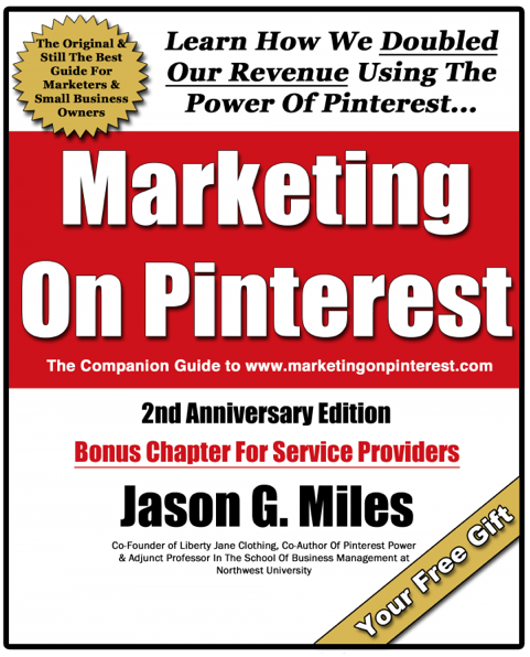 Marketing On Pinterest ebook