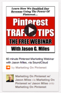 Marketing on Pinterest with Soundcloud