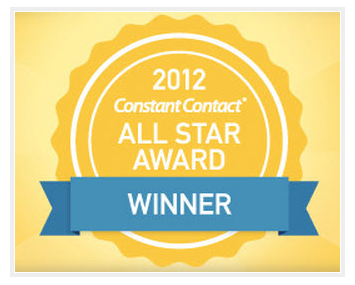 2012 Constant Contact All Star Award