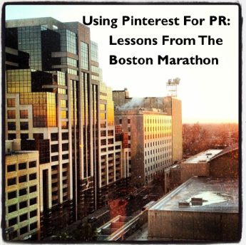 Using Pinterest for PR