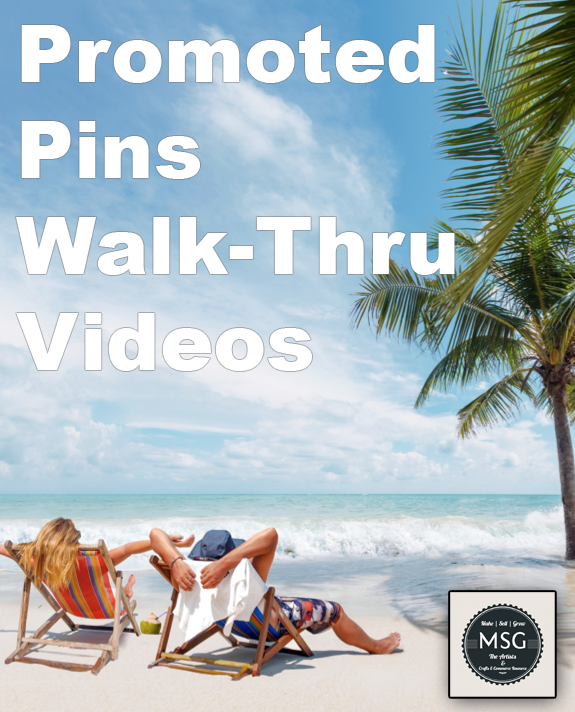 The Pinterest Promoted Pins Walk-Through Videos